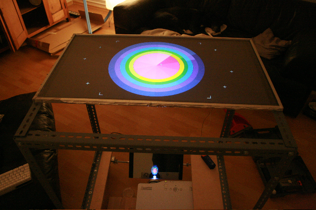 early state of my multi-touch table
